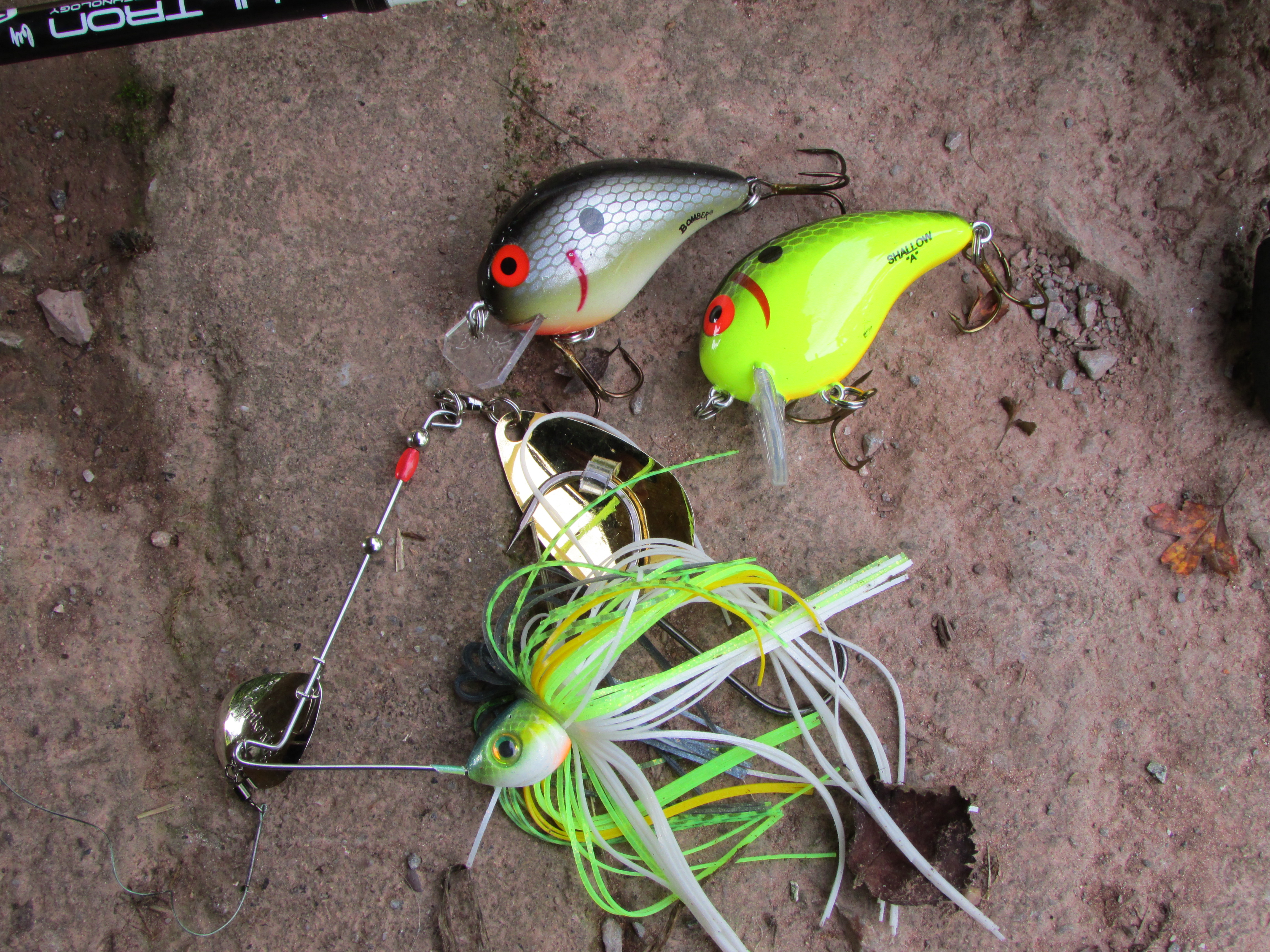 Fishing. Spoon-bait for pike
