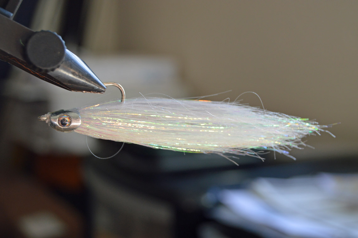 dna frosty fish fiber crazy hooks by matt pickup